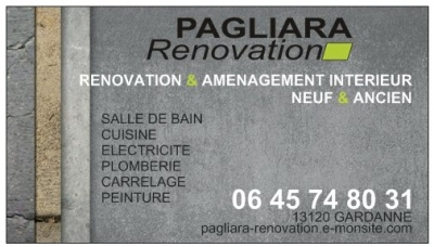 EURL Pagliara Renovation Gardanne AVENUE VICTOR HUGO 0645748